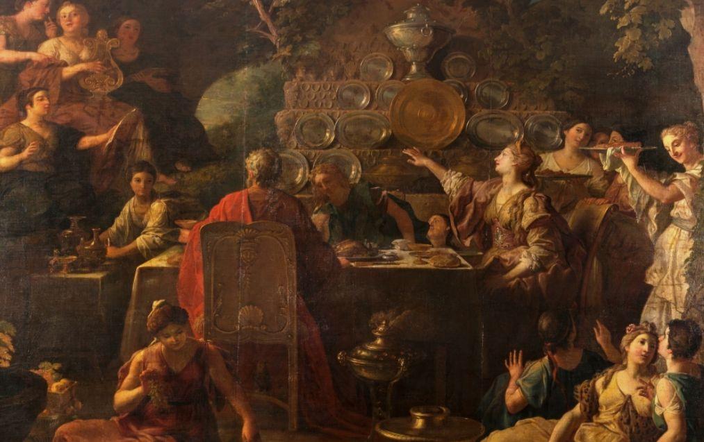 Banket van Telemachos en Mentor (Museo del Prado)
