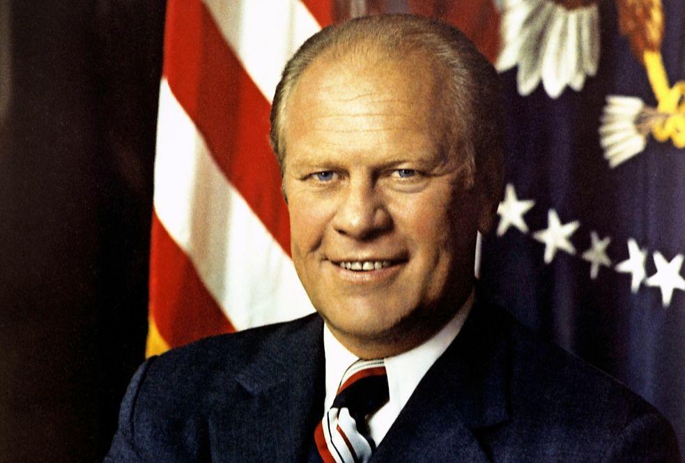 Gerald Ford 1913 2006 Amerikaanse President Historiek