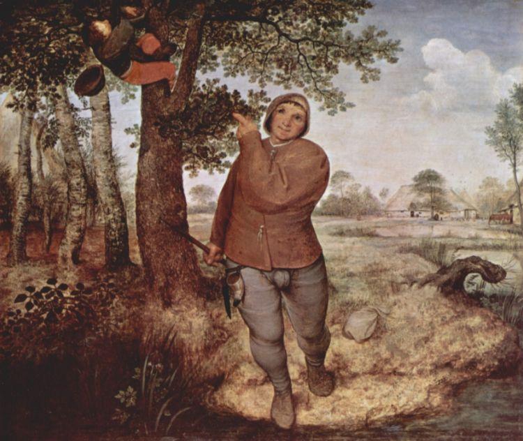 De Nestenrover, Pieter Brueghel de Jonge, 1568