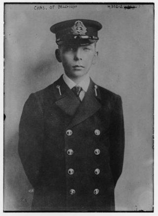 De jonge prins Karel, ca. 1915 (LOC - BNS)