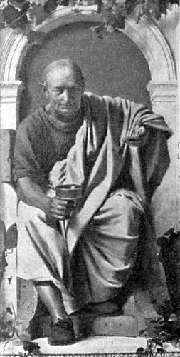 Fantasieportret van Horatius