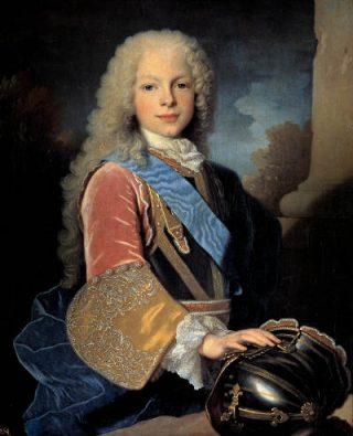 Ferdinand VI in 1725