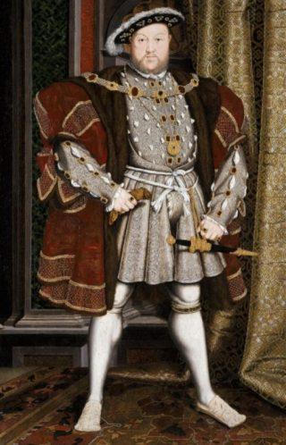 Hendrik VIII was ook niet van de 'flauwekul'