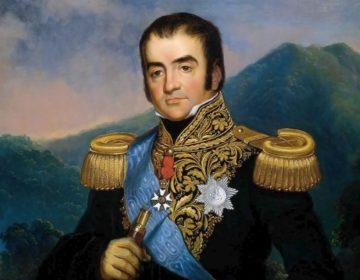 Herman Willem Daendels (1762-1818) - Portret door Raden Saleh