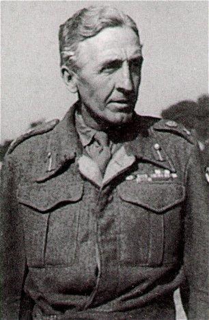 Brian Horrocks in 1945