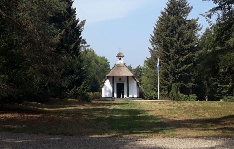 Kapel op het Nationaal Ereveld Loenen (Historiek)