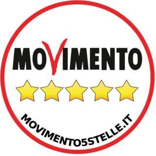 Logo van de Vijfsterrenbeweging van Beppe Grillo