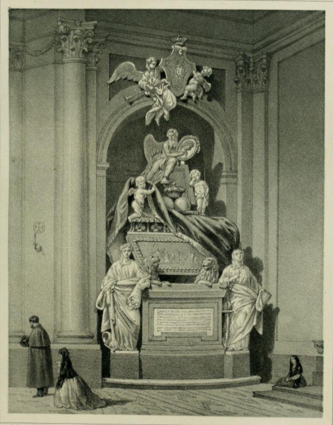 Mausoleum van Ferdinand VI in Madrid