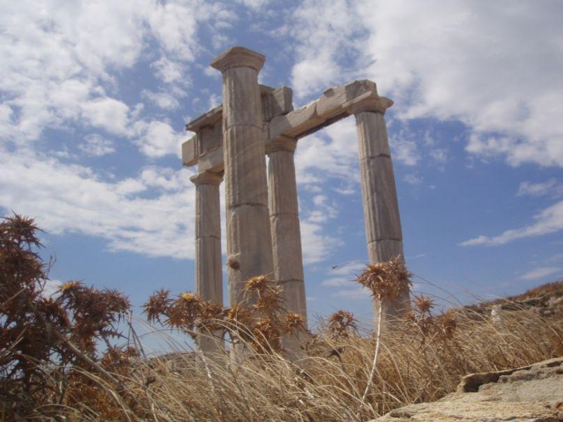 Ruïne op Delos (cc - Romain Delanoë)