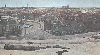 Scheveningen op het Panorama van Mesdag