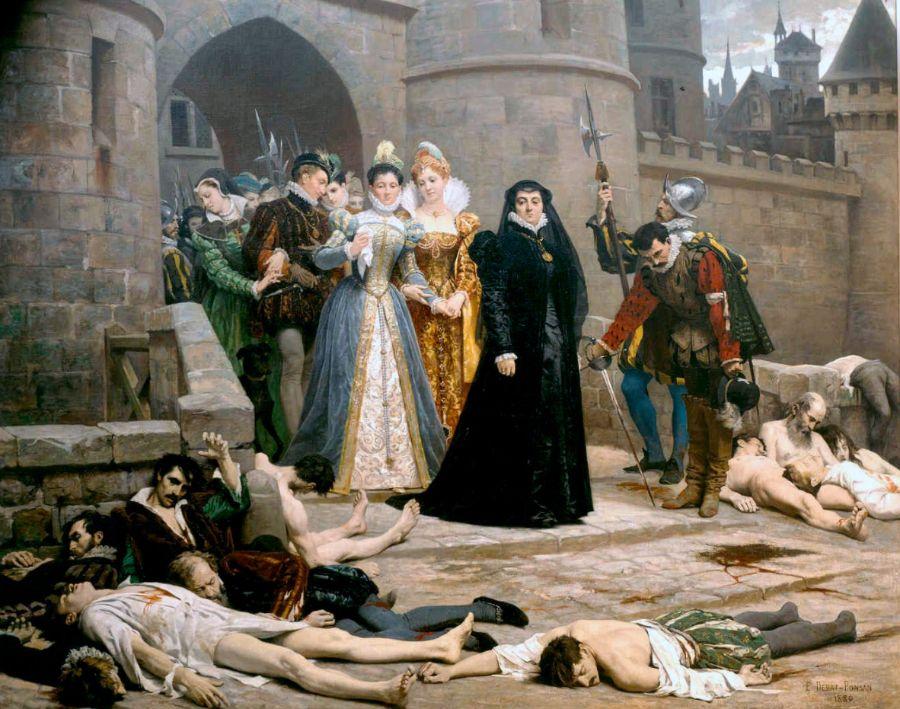 Slachtoffers van de Bartholomeüsnacht (Édouard Debat-Ponsan)