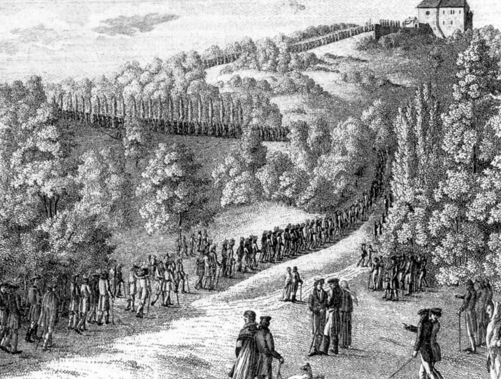 Studentenoptocht naar de Wartburg 1817