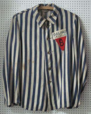 Uniform van een Belgische politiek gevangene (cc - Brigade Piron)