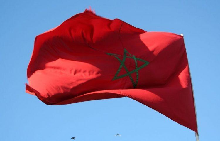 Volkslied van Marokko - Marokkaanse vlag