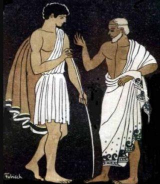 Telemachus en Mentor