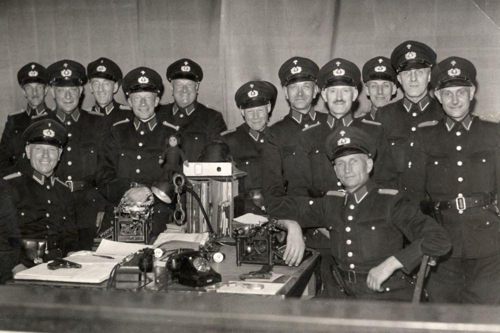 Politie Amsterdam 1943-1945, Foto: Nationale Collectie Politie, 1943-1945.