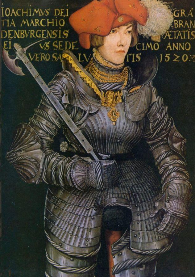 Harnas met kulzak - Lucas Cranach