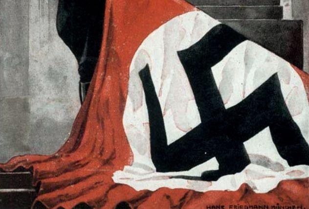 De bloedvlag: het heiligste relikwie van nazi-Duitsland