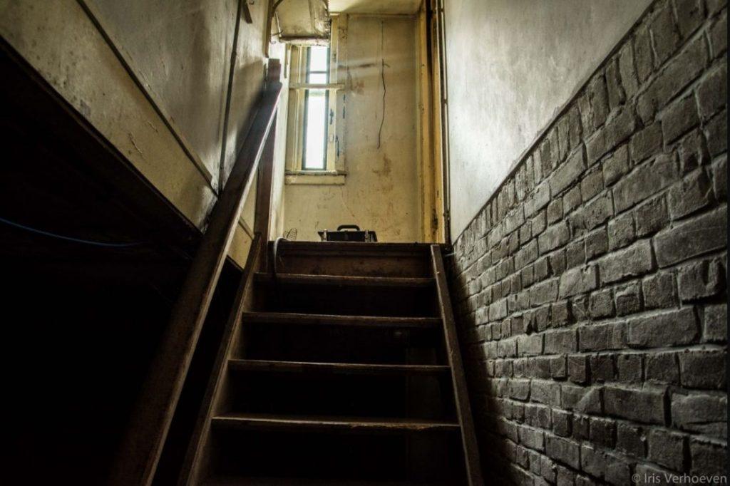 De kelder van de commandantswoning (Foto Iris Verhoeven)