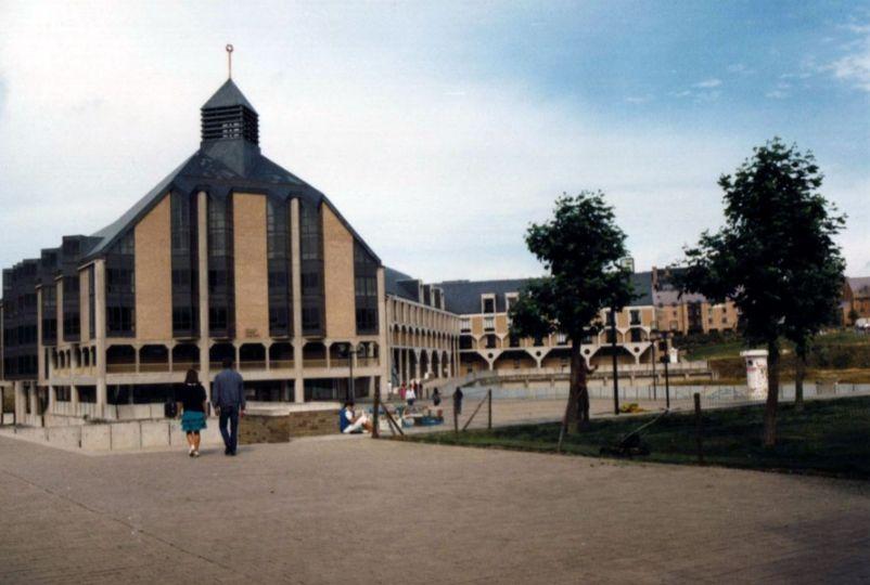 Faculteit theologie in Louvain-la-Neuve (1984) - cc/ Jean-Pol GRANDMONT