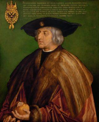 Keizer Maximiliaan I - Albrecht Dürer