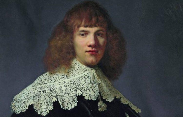 Rembrandt - Portret van een jonge man, ca. 1634 (Hermitage - René Gerritsen/Jan Six Fine Arts)