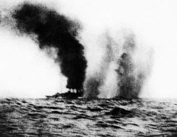 Zeeslag bij Jutland (1916) - HMS Birmingham onder vuur