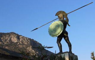 Oligarchie - De grote Griekse steden Sparta, Korinthe en Athene zijn een tijdlang door kleine groepen bestuurd. (cc - Pixabay - gancheva)