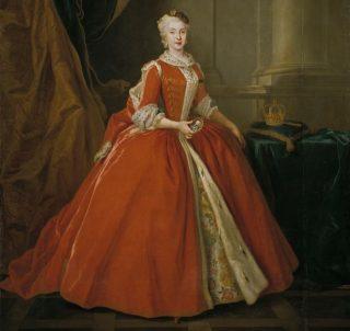 Maria Amalia van Saksen, de vrouw van Karel III