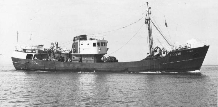 De FD 241, het schip dat te zien is op de verpakkingen van Fisherman's Friends