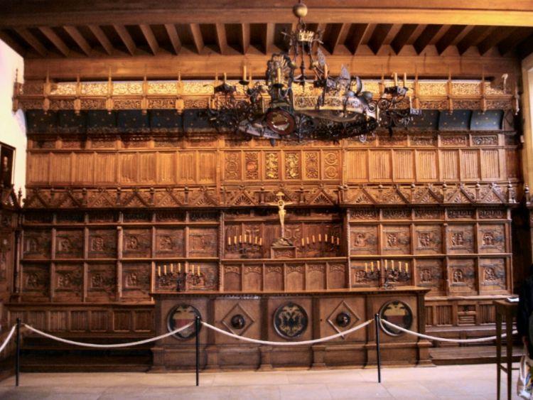 """""""Friedenssaal"""" in het historische stadhuis van Münster (cc - STBR)"""