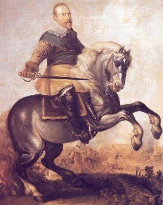 Gustaaf II Adolf van Zweden, de 'Leeuw van het Noorden'
