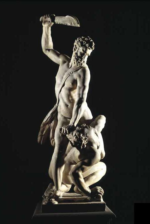 'Samson doodt een Filistijn' Giambologna (cc - Ricardo André Frantz)