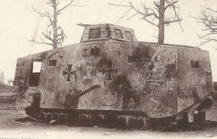 A7V Sturmpanzerwagen - Tank die Duitsland tijdens de Eerste Wereldoorlog gebruikten