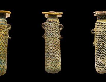 Alabastron, kruikje waarin de oude Grieken hun parfum vaak bewaarden (cc)