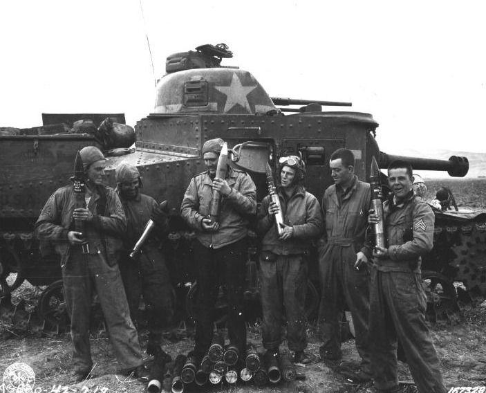 De M3 Lee in Noord-Afrika (Publiek Domein - wiki )