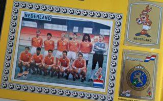 Nederlands elftal in het Panini-album van 1988