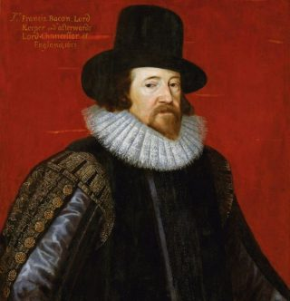Francis Bacon (1617), portret door Frans Pourbus