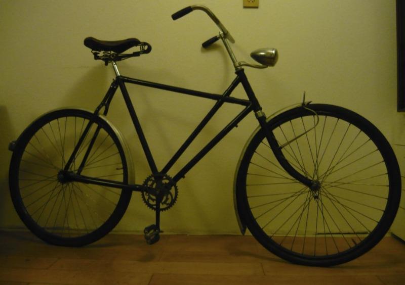 Gazelle-fiets uit ca. 1953 (cc - Sonty567 - wiki)