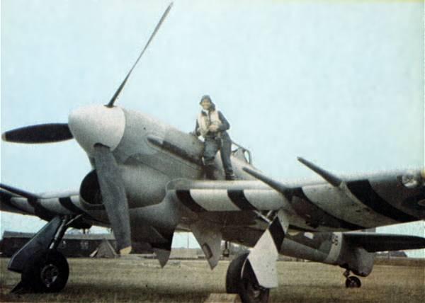 Hawker Typhoon uit de Tweede Wereldoorlog (RAF - wiki)
