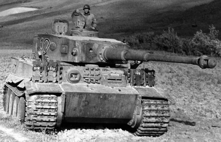 Panzer VI Tiger (wiki - Idaho Military History Museum)