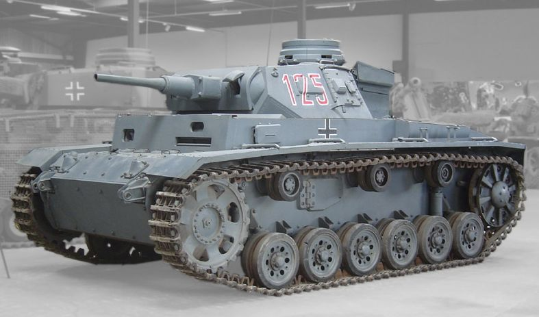 Panzerkampfwagen III in een museum - cc