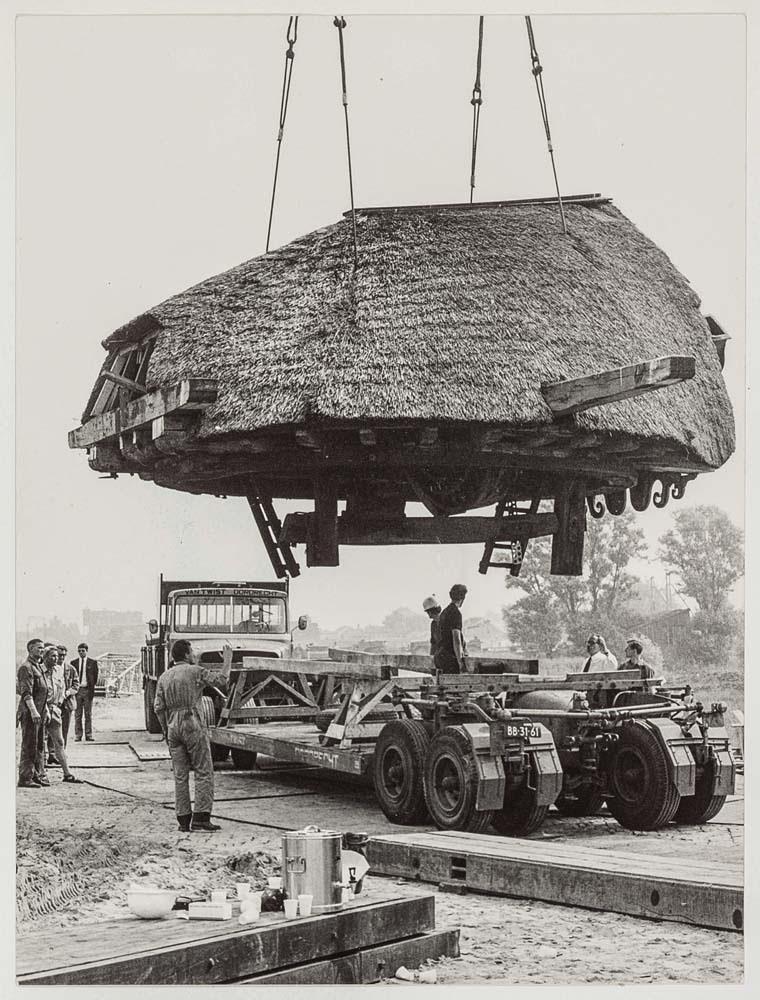 Verplaatsing van molen 'De Zoeker' - Foto: De Zaansche Molen
