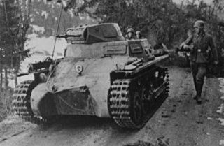 Panzerkampfwagen I in Noorwegen (cc - Repro John Erling Blad - wiki)