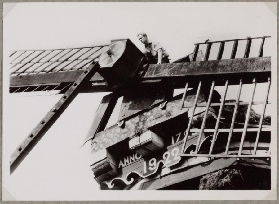 Onttakeling van molen De Koperslager - Foto: De Zaansche Molen