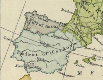 Koninkrijk Asturië in 814 (Publiek Domein - wiki)