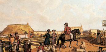 Te voet door het Nederland van 1823