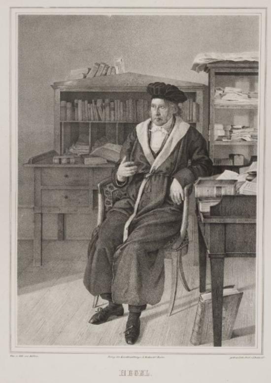 Georg Hegel (1770-1831) - Invloedrijk geschiedfilosoof