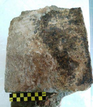 Het kleitablet dat werd gevonden bij Olympia (Griekse ministerie van Cultuur)