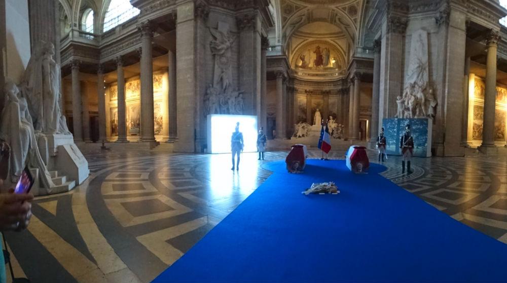 In het Panthéon (Foto Chris Rachel Spatz)